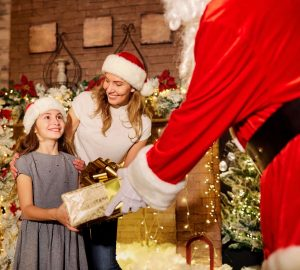 Audace   Réinventer le royaume du père Noël pour soutenir les centres commerciaux