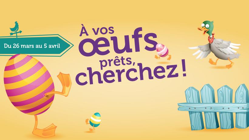 La Ferme de Pâques réinventée - Chasse aux cocos virtuelle en centre commerciaux   Audace & Co.